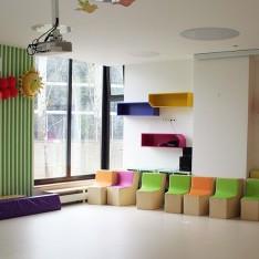 Зал детского сада в КП Резиденция Рублево
