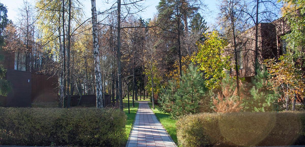Дорожка в лес, КП «Резиденция Рублево»