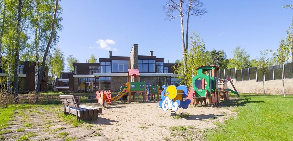 Детская площадка №1 в КП Резиденция Рублево