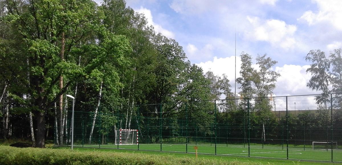 Футбольное поле в КП Резиденция Рублево