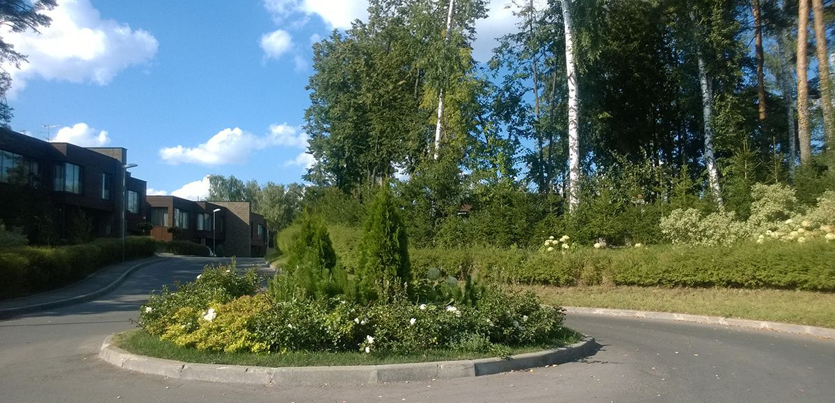 Круговое движение в «Резиденции Рублево»