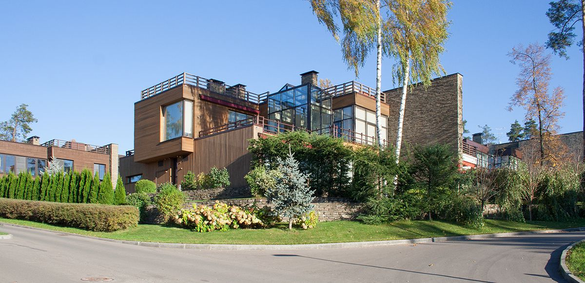 Жилой дом в поселке «Резиденция Рублево»