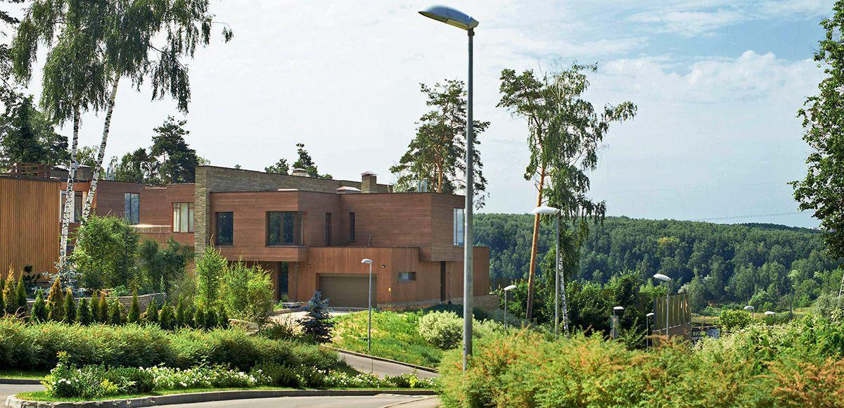 Дуплекс с видом на лес в «Резиденции Рублево»