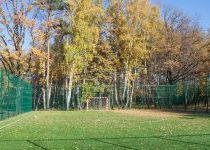 Футбольное поле в «Резиденции Рублево», осень 2016