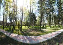 Лесопарковая зона в Резиденции Рублево, вид 2, весна 2017